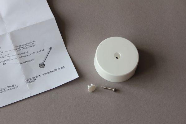 Sturmschutzdose für Windschutzkappe (f. Rohr 16mm)