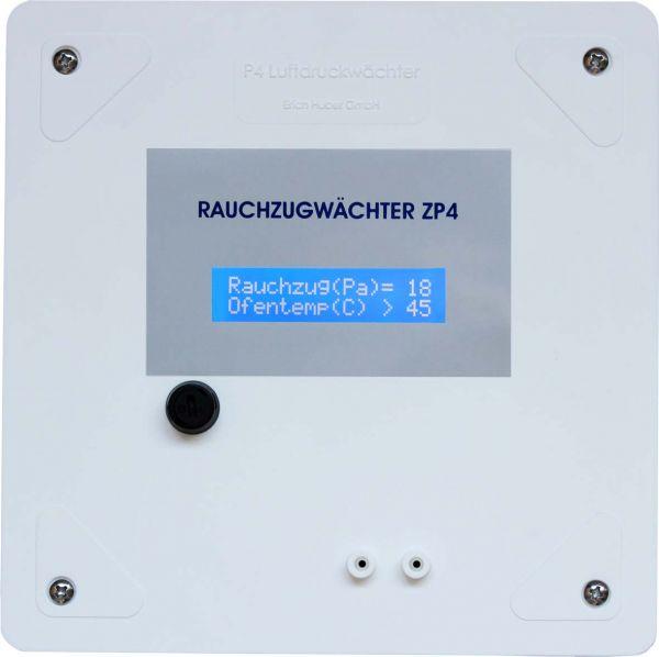 ZP4 Rauchzugwächter (Unterputz) mit LC-Display
