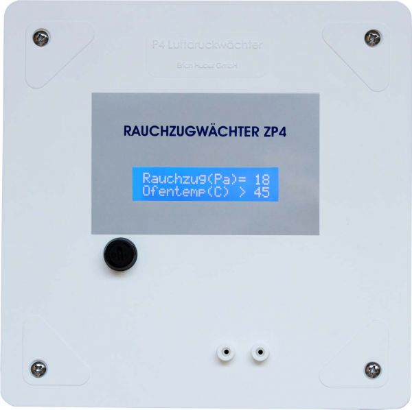 ZP4 Rauchzugwächter (Aufputz) mit LC-Display