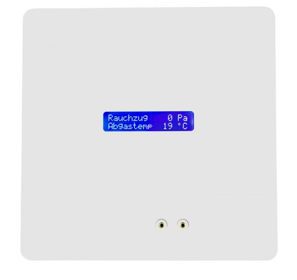 ZP4 Rauchzugwächter (Unterputz) mit LC-Display HOME-Design