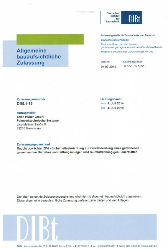 DIBt-Zulassung-ZP4